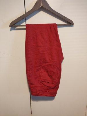 edc Jeans coupe-droite rouge foncé