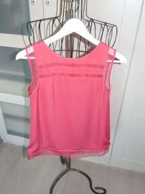 rote edle Bluse von Promod Gr. 34