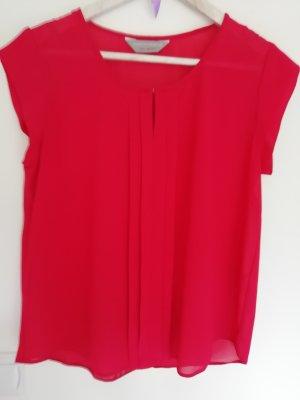 rote elegante luftige Bluse Dorothy Perkins 40