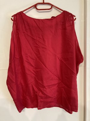 de.corp by Esprit Oversized Blouse red-raspberry-red