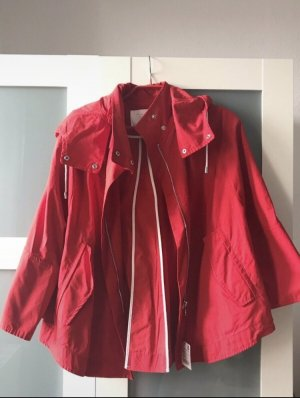 Zara Cape red