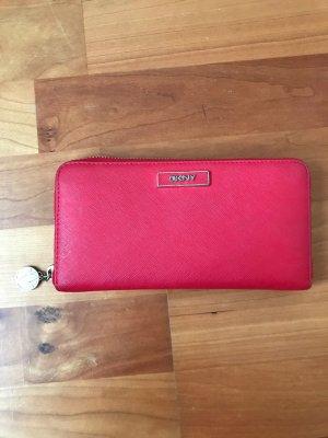 Rote Geldbörse DKNY
