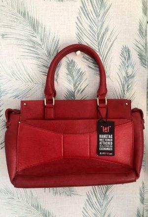 Rote große Tasche neu