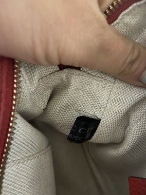 Rote gucci Tasche
