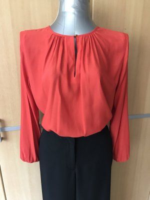 Rote H&M Bluse Gr 36/S