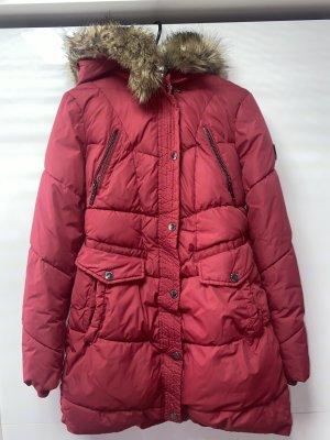 Rote HALIFAX Winterjacke (D) , XS/S