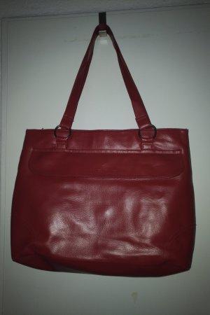 Rote Handtasche (Daniel Hechter)