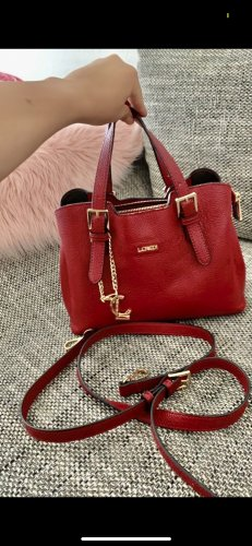 Rote Handtasche L.Credi