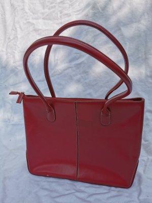 Rote  Handtasche, Shopper