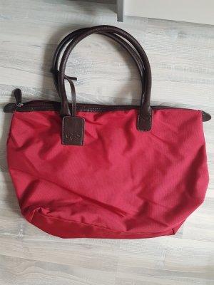 rote Handtasche von Strauss