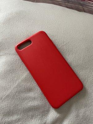 Pokrowiec na telefon komórkowy czerwony