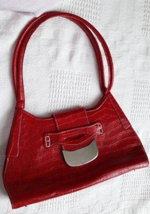 Rote Henkeltasche