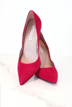 ❤  Rote High Heels / Pumps / 100% Leder / Klassische / Business Schuhe von Pura Lopez