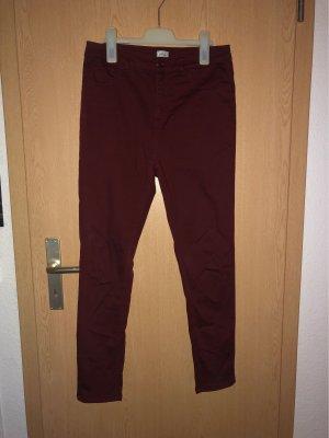 Pimkie Jeans a 7/8 bordeaux