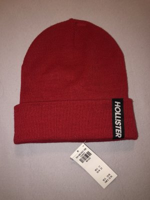 Hollister Fabric Hat red cotton