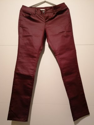 s.Oliver Pantalon strech rouge-bordeau