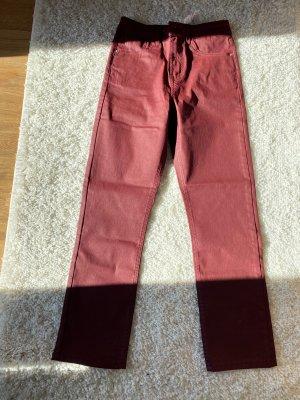 Zara Pantalon en simili multicolore