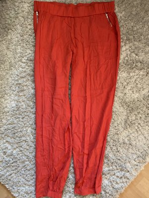 Atmosphere Pantalon large rouge clair