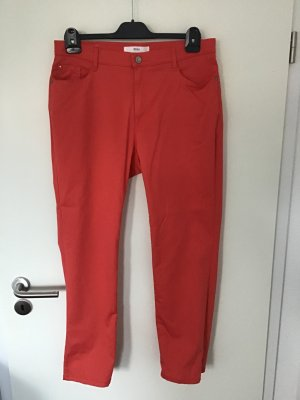 Brax feel Good Five-Pocket Trousers bright red cotton