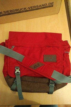 Rote Jack Wolfskin Tasche