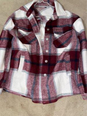 SheIn Chaqueta tipo blusa multicolor