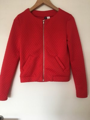 H&M Divided Blouson universitaire rouge