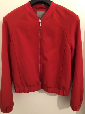 Rote Jacke aus Viskose