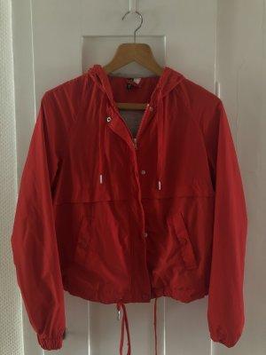 H&M Cape rouge-rouge foncé