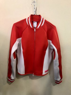 Adidas by Stella McCartney Veste de sport blanc-rouge
