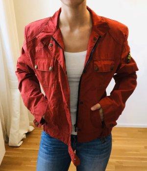 Belstaff Between-Seasons Jacket red-brick red