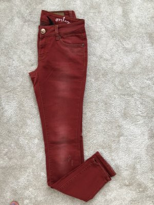 Rote Jeans, Gr. 34, neu