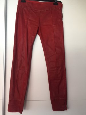 Rote Jeans von Zara in Größe 36/38
