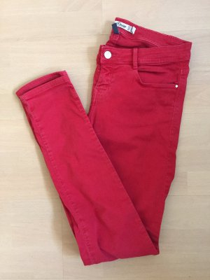 Rote Jeans Zara
