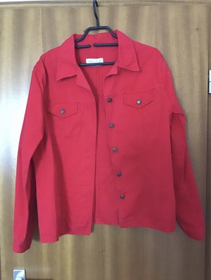 Hennes Collection by H&M Denim Jacket red cotton