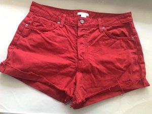 H&M Short en jean multicolore