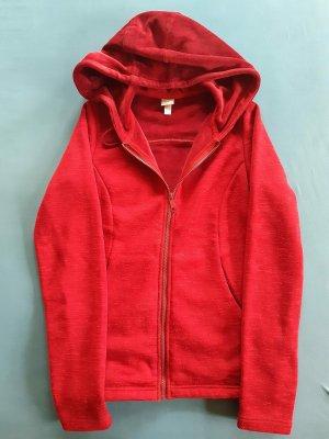 Bench Fleece Jackets dark red-carmine mixture fibre