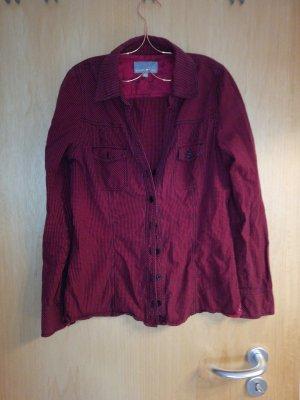 Rote Karo Bluse