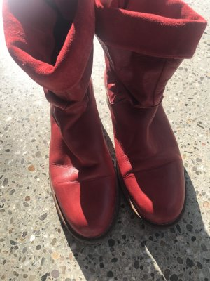 Kim Kay London Ankle Boots red