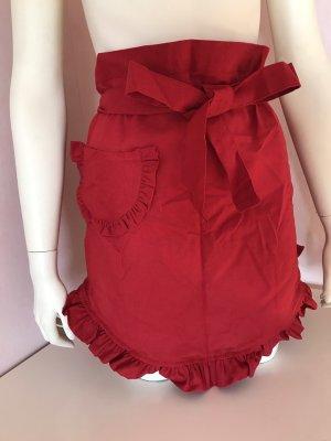 H&M Spódnica wierzchnia czerwony Bawełna