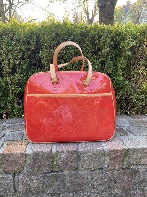 Rote Lackleder Handtasche von Louis Vuitton