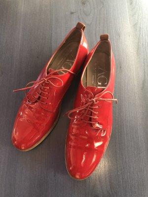 AGL Scarpa stringata rosso