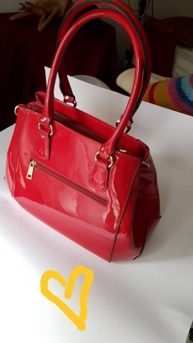 Sac Baril rouge fluo