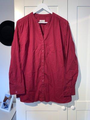 Rote langärmelige Bluse von Bonita in Größe 46