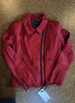 Vera Pelle Leather Jacket multicolored leather