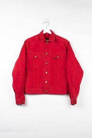 Lee Jeansowa kurtka czerwony Denim