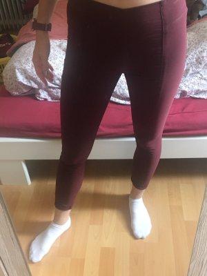Rote leggings-Hose