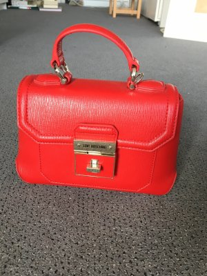 Rote Love Moschino Handtasche
