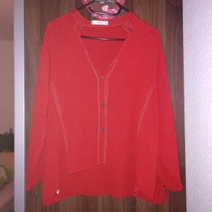 Rote Mango Bluse