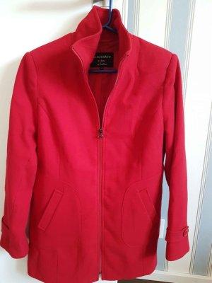 Authentic Krótki płaszcz ceglasty