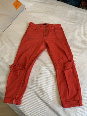 Rote Mom Jeans